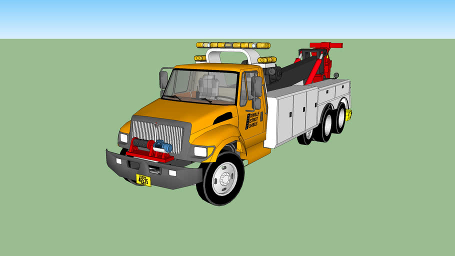 International tow truck (school district)