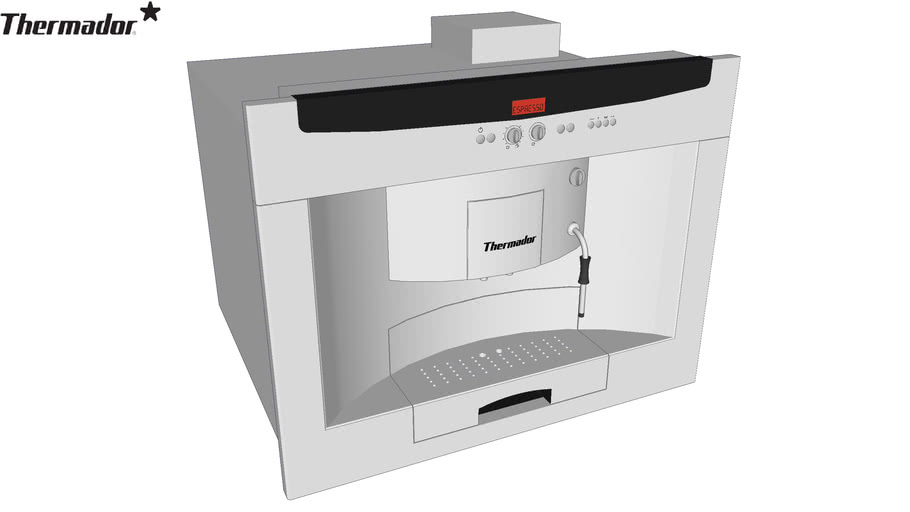 Thermador Built-in fully automatic coffee machine BICM24CS Stainless Steel