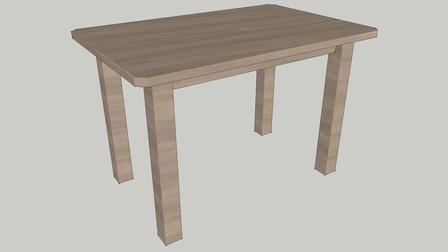 IKEA SUNDVIK Children's table grey-brown