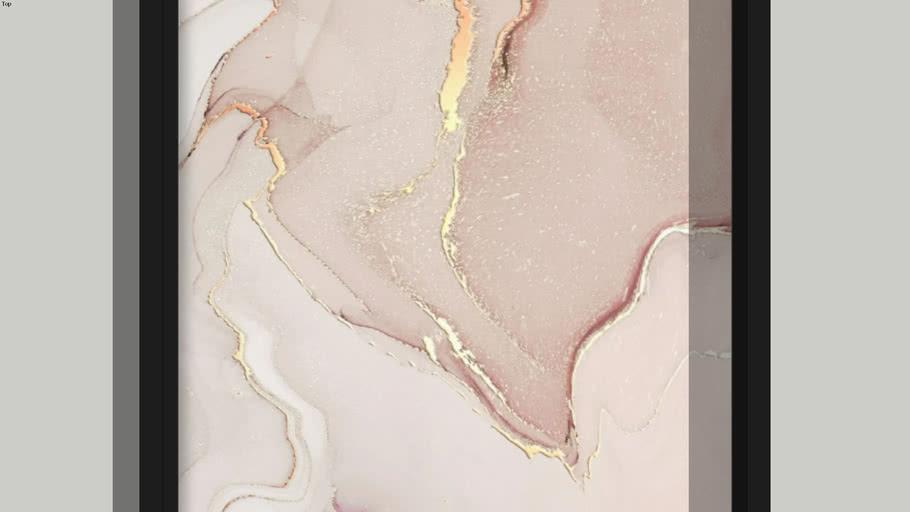 Poster Marble Quadro Marmorizado 2
