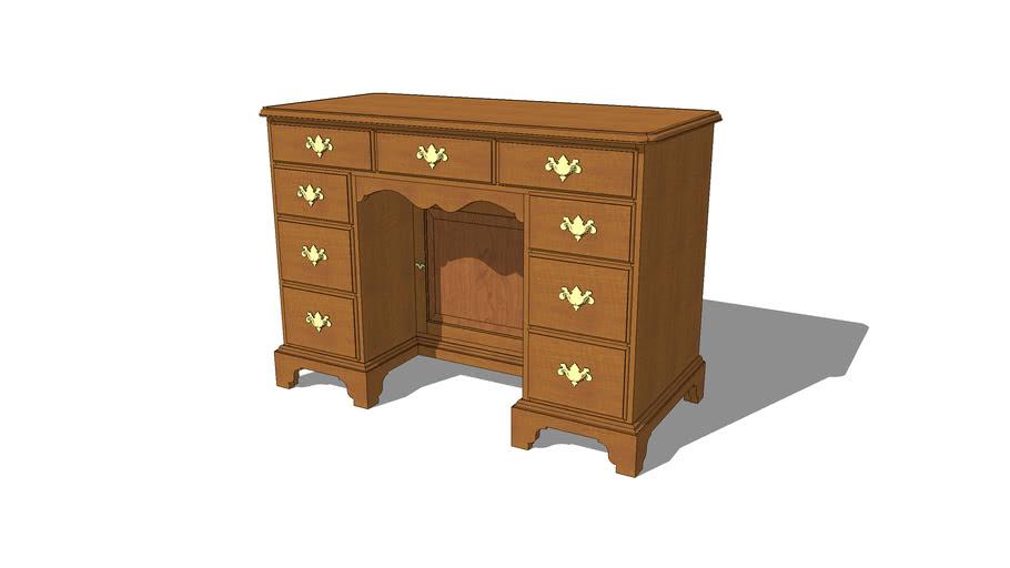 Kneehole Desk - Ladies Victorian