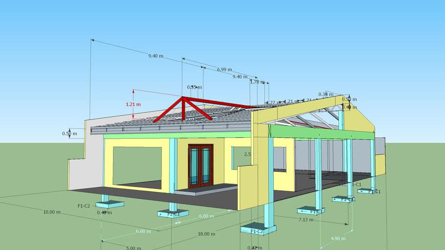 Roof Design 3d Warehouse