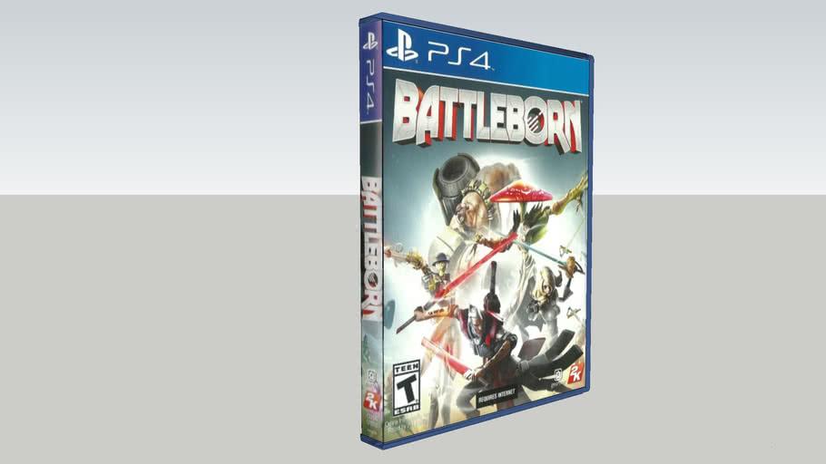 Battleborn PS4 Game Cases