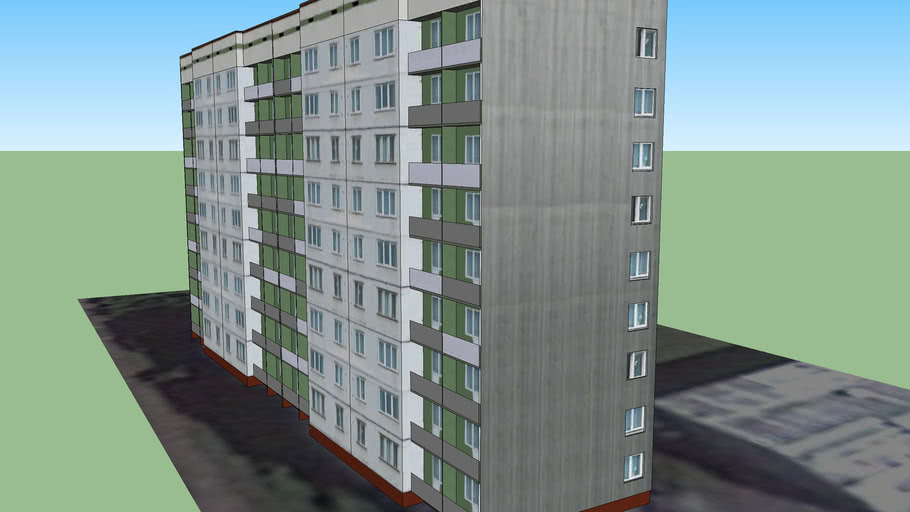 Riga, Ilukstes street 8 House