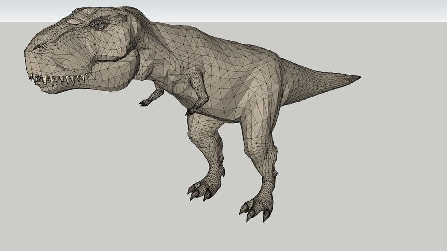 Tyrannosaurus-Rex By Muhammad Sitwat.