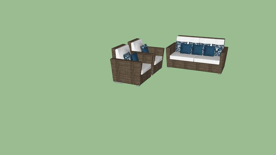 Sofá área externa