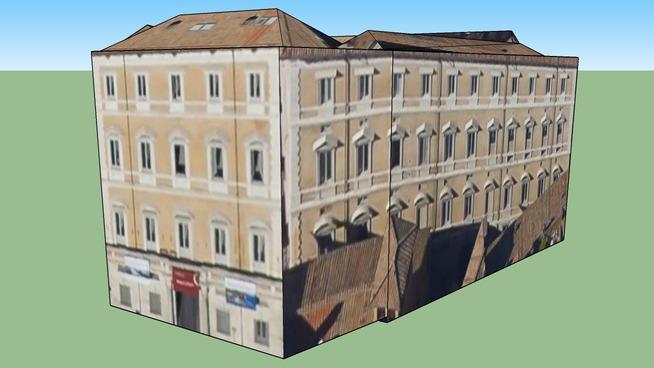 Edificio in Roma, Piazza Navona, Italia