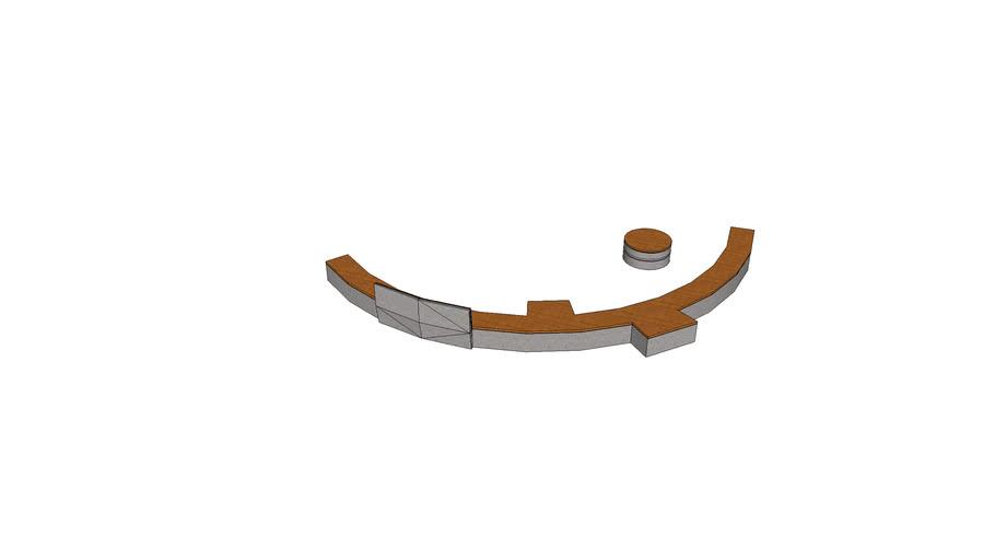 bench ławka