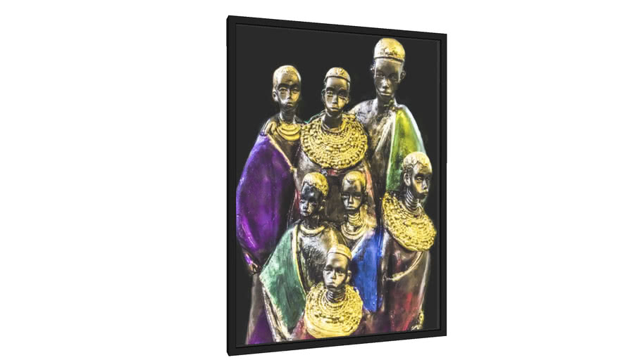 Quadro Família reunida - Galeria9, por Gamas Fine Art