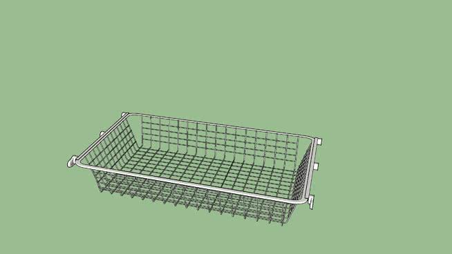 IKEA HJÄLPA pull-out wire basket 80x40