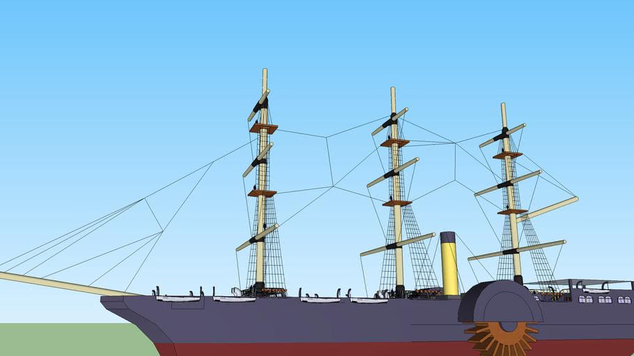 Victorian ship (Verne)
