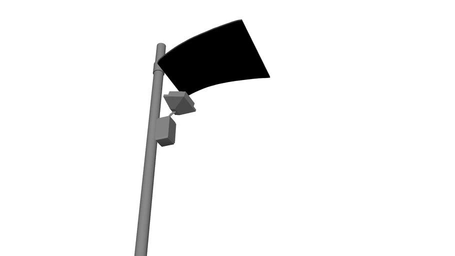 Mininuvola Street Light IGuzzini 3D
