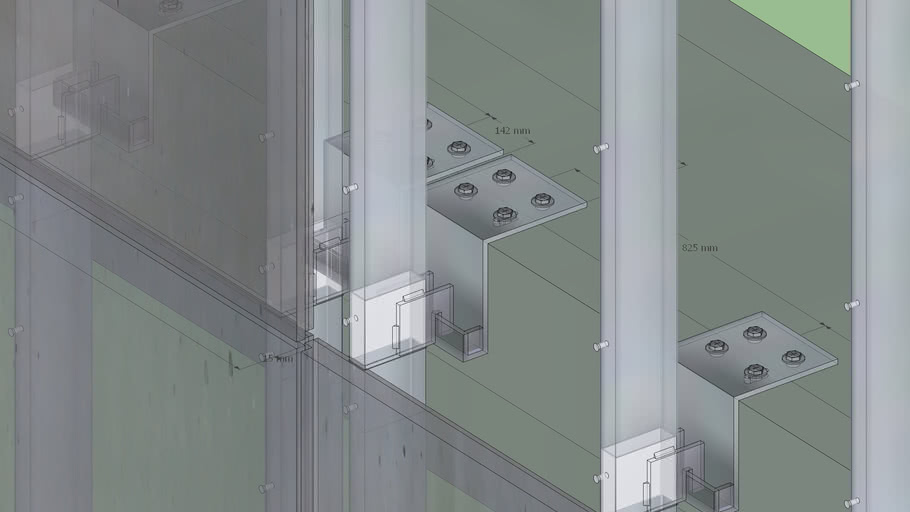 RCC precast panel dry cladding - type2
