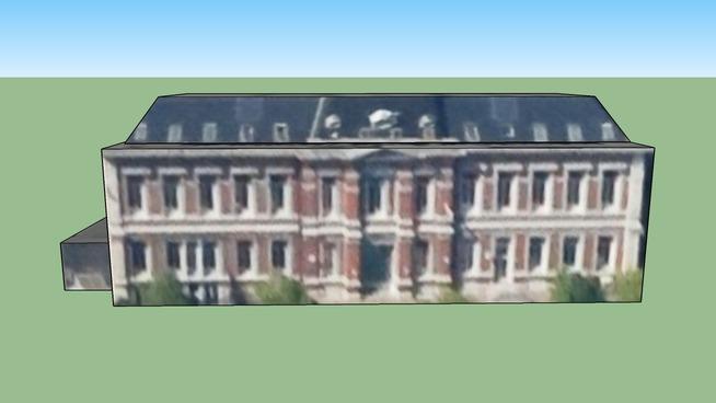 Gebouw in Brussel Hoofdstad, België