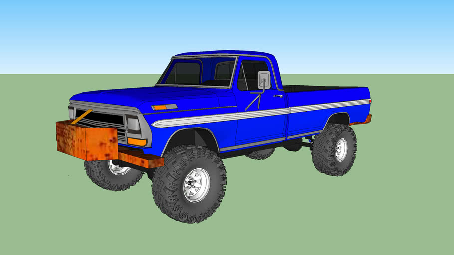 rough old 76 Ford F250