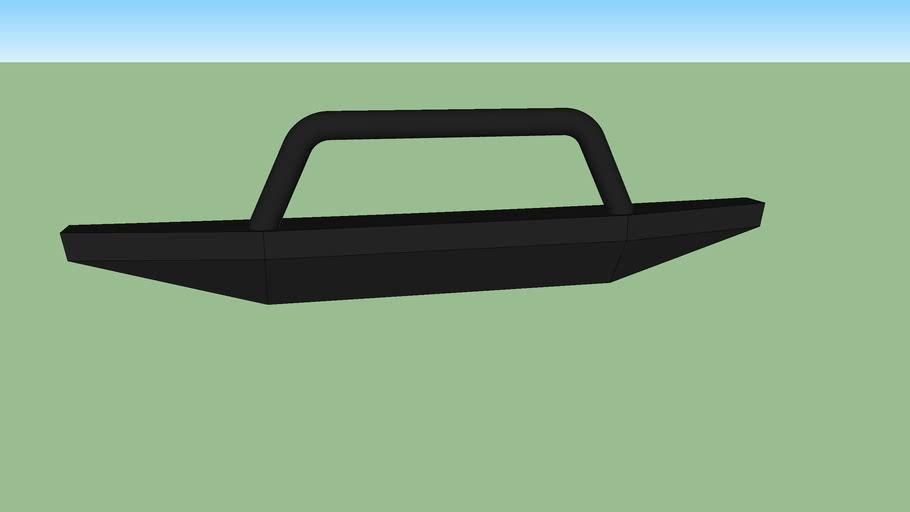 Chevy Blazer front bumper