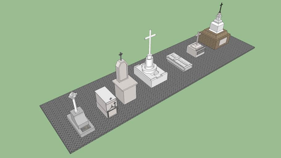Tumbas Varias Cementerio Universal de Barranquilla