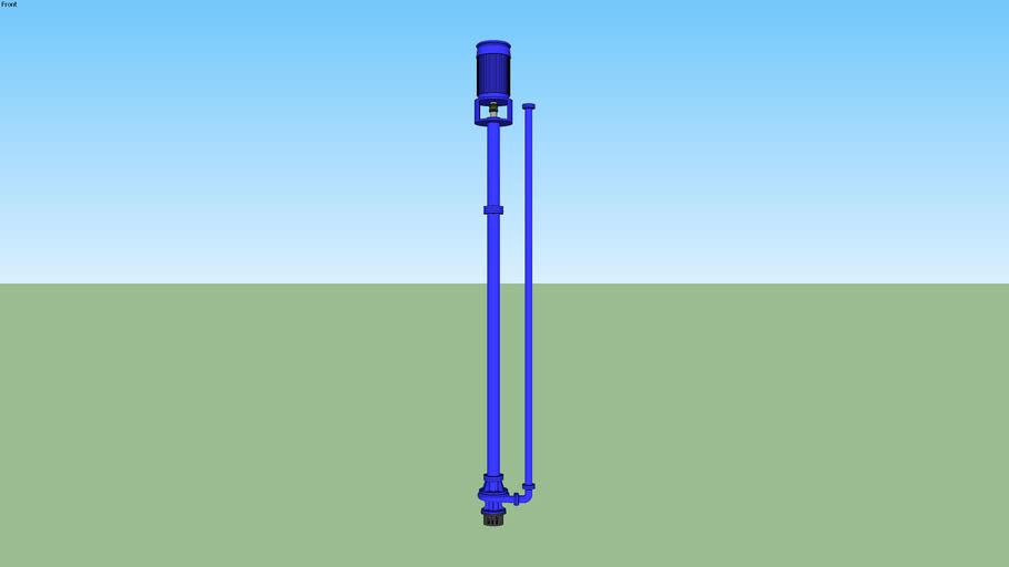 Vertical Immersion Sump Pump