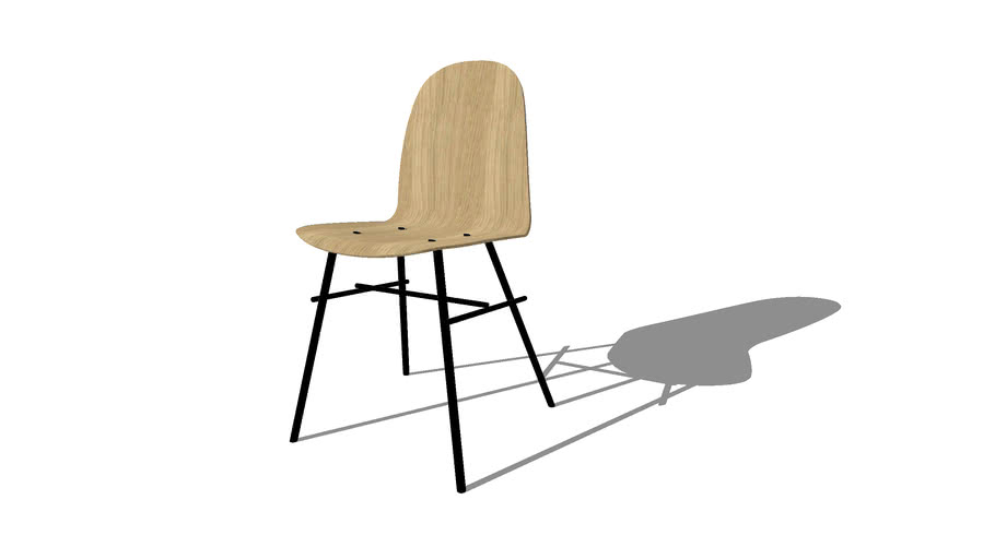 Nam Nam Classic Chair, designed by HolmbäckNordentoft, Produced by Icons of Denmark