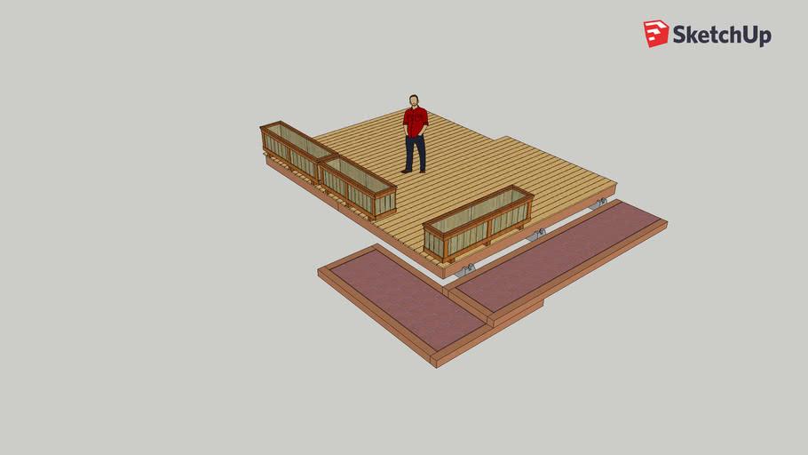 EF Back yard Deck