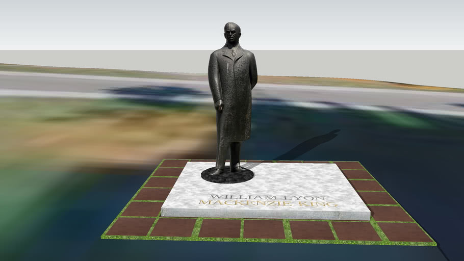 William Lyon Mackenzie King Statue