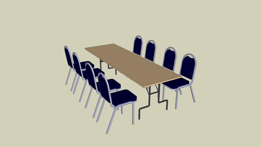 banquet set