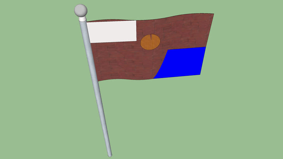 NEW Nelsona Flag