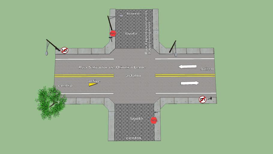 cruzamento   Rua Salvador de Oliveira Leme e Expedissionários