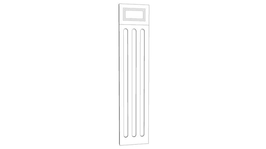 fluted column