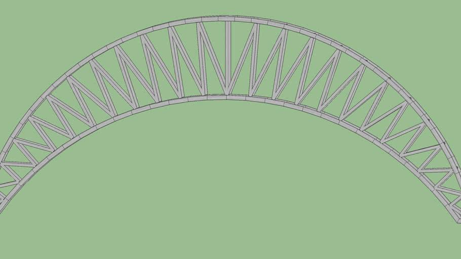 Bowstring Truss