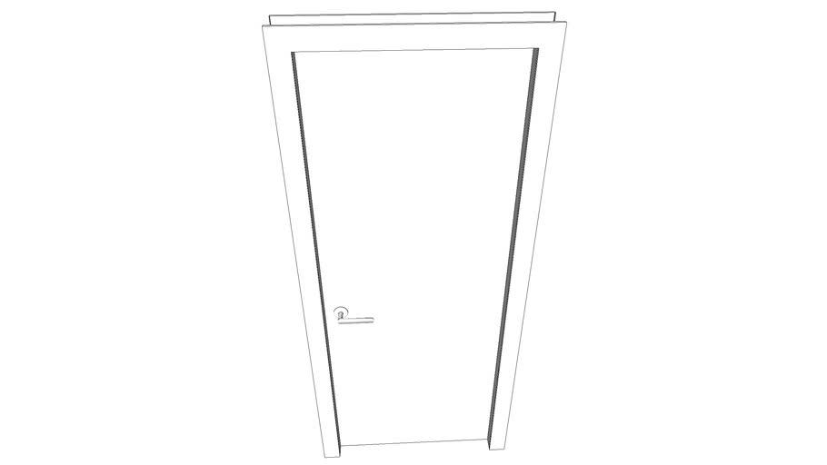 Door with handle