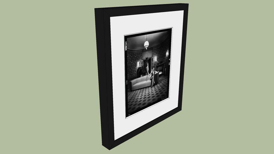 "BRODZIAK ""Noti"" Horse 40x36cm - Black&White, Photography, Image, Picture"