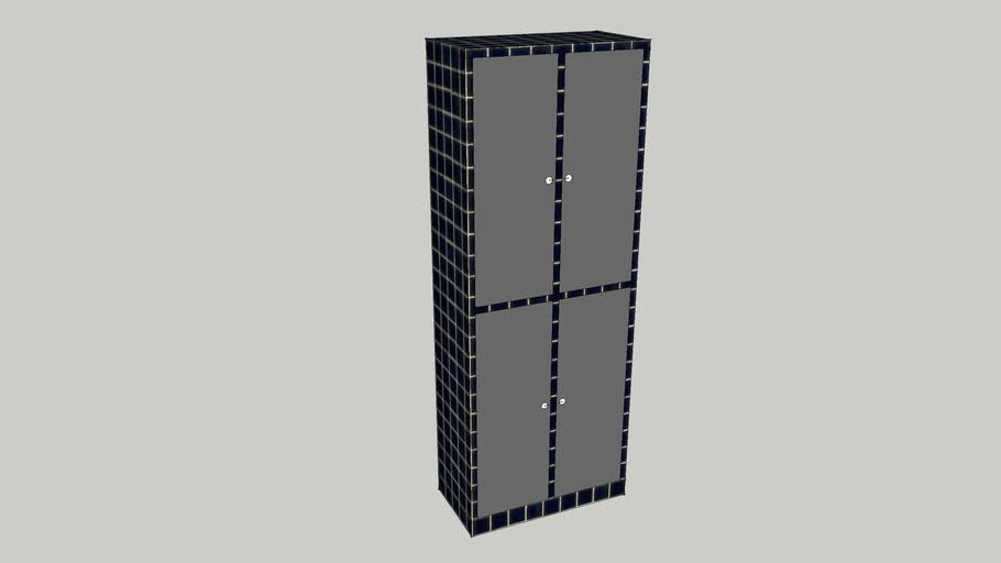 Custom Laminate Lockers by Candex Custom Corp