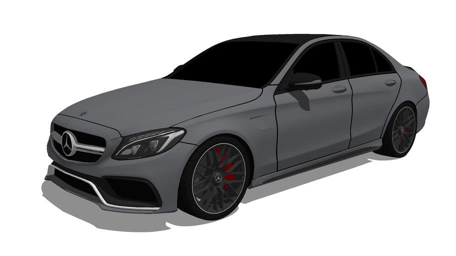 2016 Mercedes-AMG C63 S Sedan