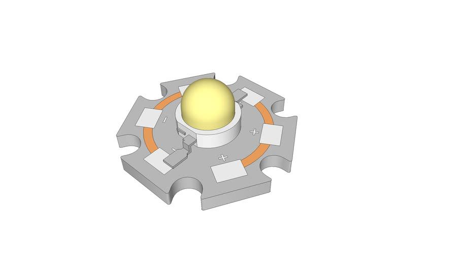 LED-SMD-HP-803 and Hexagonal Base