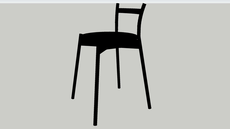 IKEA PS 2012 Stool black