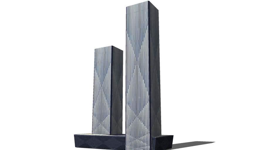 Wanda East Port Project Towers