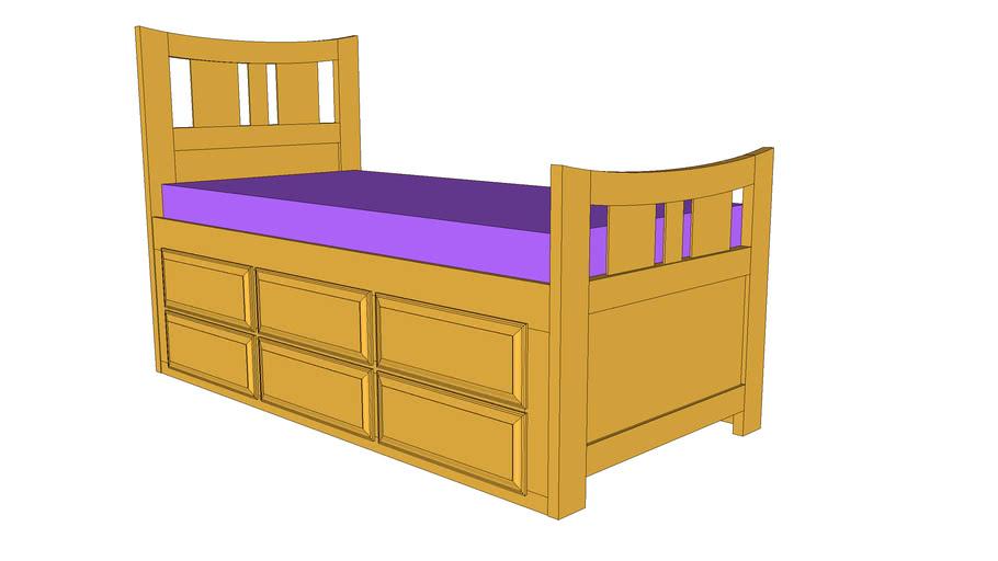 Captians Bed