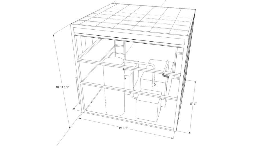 CMT 3'' AIR LINE'S & BUILDING