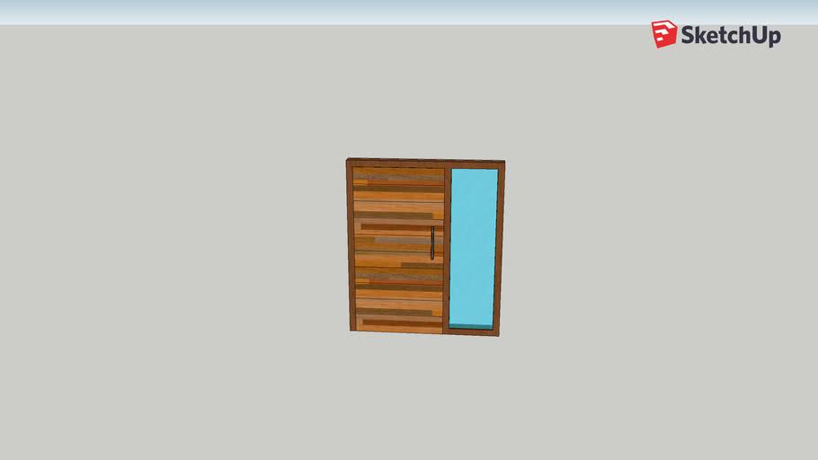 wooden door 01