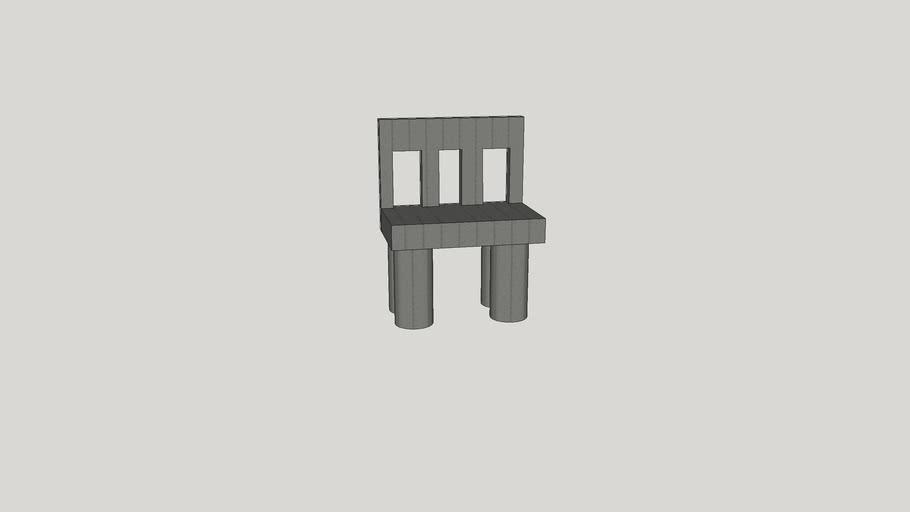 Metallic Colored Chair