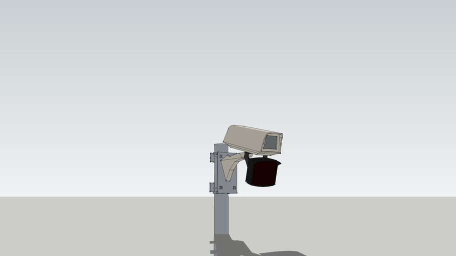 CCTV Camera with IR Illuminator