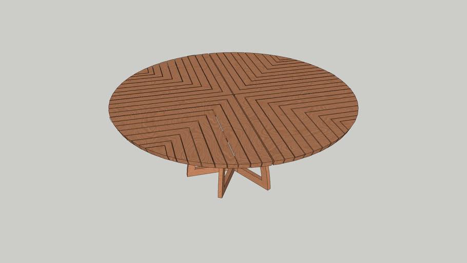 Miza lesena