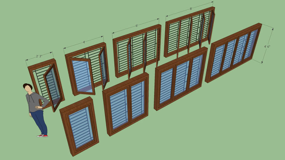 Windows with Grill