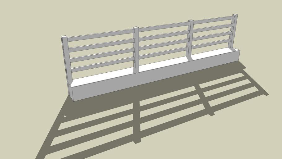 Cow Boy Fence