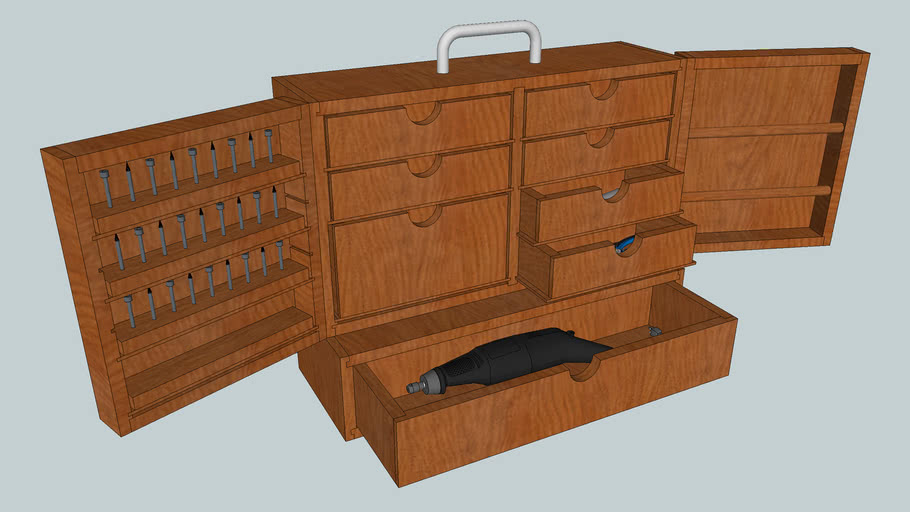 Rotary Tool Cabinet