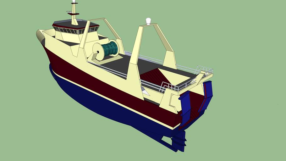 large trawler (unfinished)