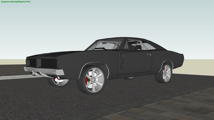 Dodge Charger R/T ShetchyPhsysics