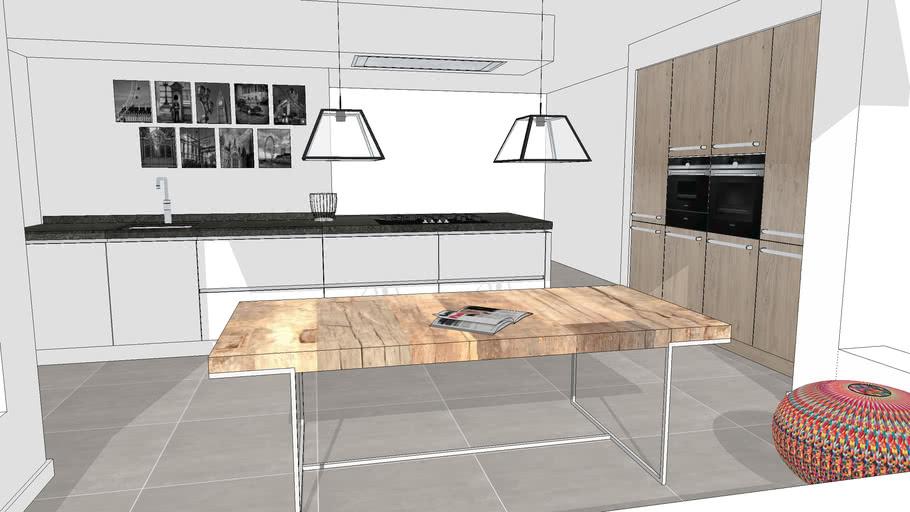 Hacker Systemat Kitchens Kuchen Keukens 3d Warehouse