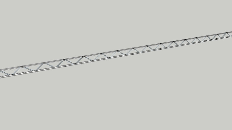 Rectangular roof truss